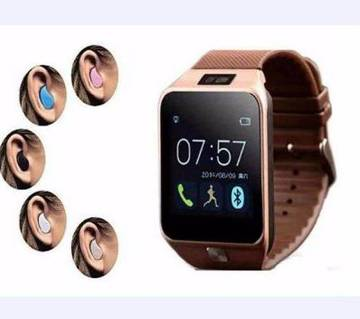 DZ09 Smart Watch - SIM Supported - Bluetooth Headset
