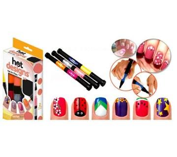 Hot Designs 8-in-1 নেইল আর্ট পেন