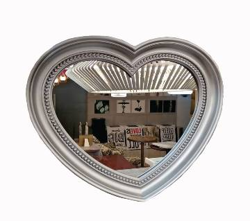 Wall Mounted Mirror With Flame