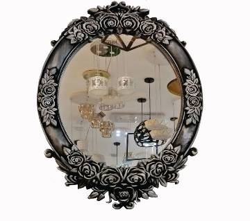 Antique Silver Mirror With frame