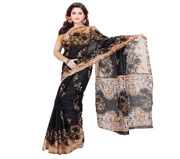 BS13 Printed Cotton Saree For Women