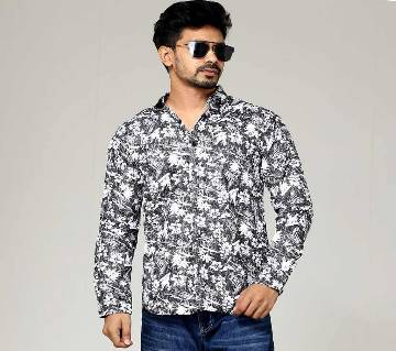 Mens Trendy Cotton Casual Style Shirt