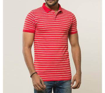 Gents Cotton Solid Color Polo Shirt