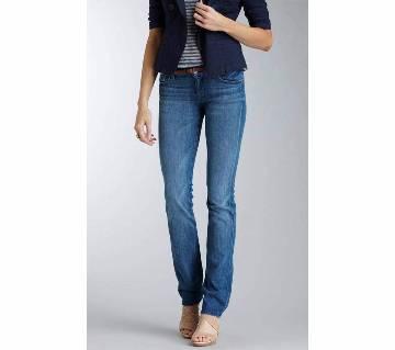 Ladies Narrow Fit Jeans Pants