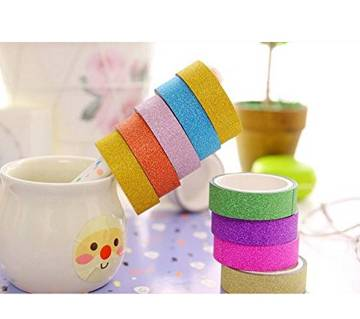 Colorful Washi Tape - 10pcs
