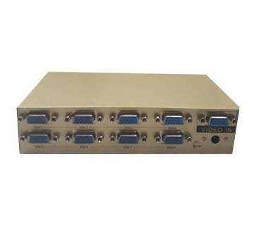 8 Port VGA Video Splitter