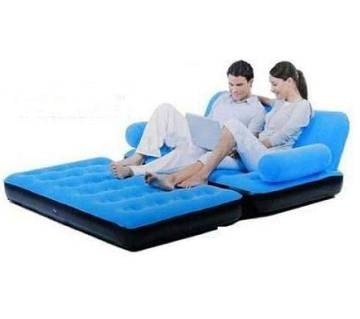 5 in 1 Inflatable Sofa cum Bed with Air Pumper