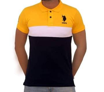 Menz Multi Colour Polo Shirt