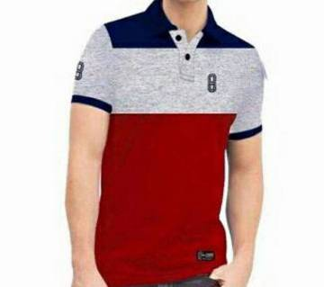 Menz Multi Color Polo Shirt