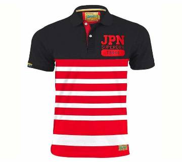 Menz Striped Polo Shirt