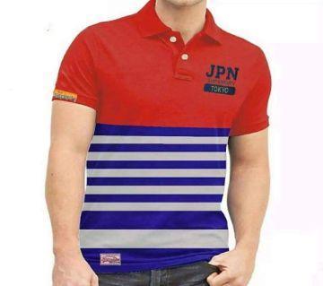 Menz Striped Polo Shirt