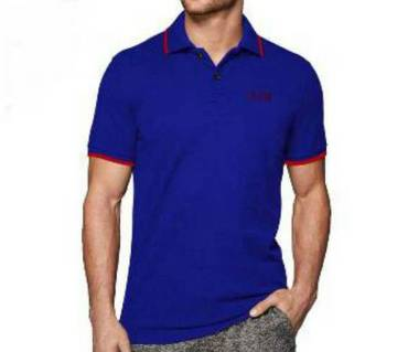 Menz Solid color polo shirt(copy)