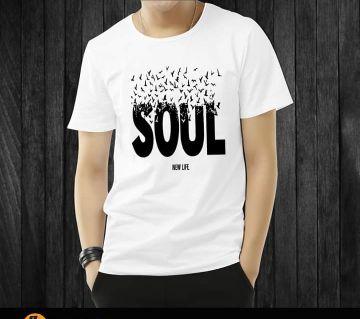 Menz Soul Stylist Half Sleeve T-shirt