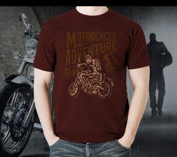 Maroon T-shirt for Men