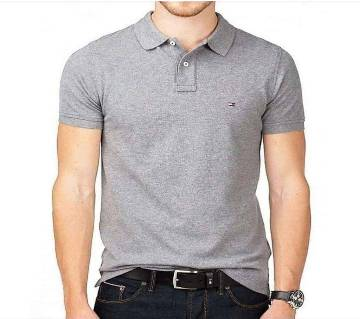 Menz solid color polo shirt