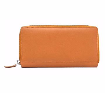 Ladies Leather Wallet (Brown)