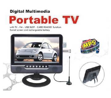 9.5 ইঞ্চি LCD পোর্টেবল টিভি