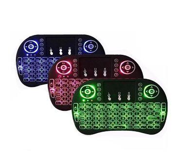 Wireless Rechargeable Mini KeyBoard  Lighting