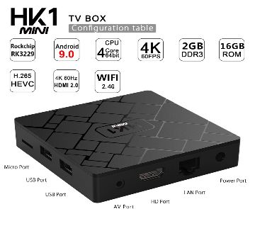 HK1 Mini Android TV Box 2Gb/16Gb