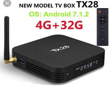 TX28 Smart 4GB RAM & 32GB ROM Android TV Box