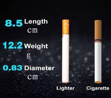 Refillable Butane Gas Flint Cigarette Shaped Lighter