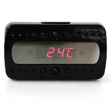 Full HD Hidden Camera Alarm Clock V26 with Motion Detection
