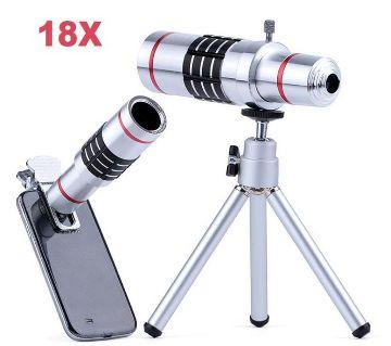 18X zoom telescopic lens