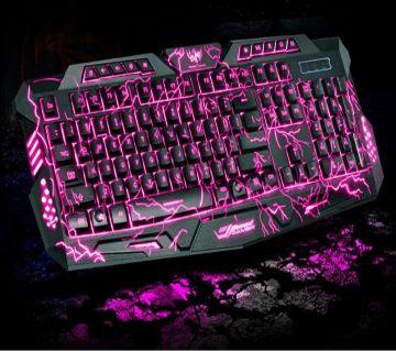 v100 Led 3 Colors Keyboard