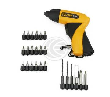 cordless screw driver set with drill machine