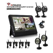 4Cn Wireless DVR Security System