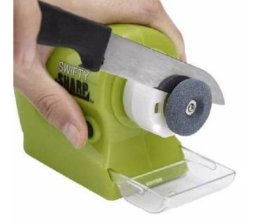 SWIFTY SHARP motorized knife sharpener