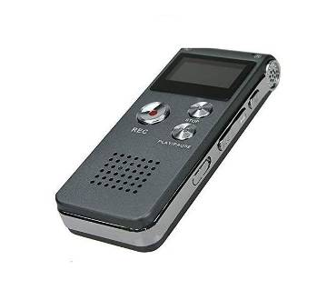 Rechargeable Voice Recorder MP3 Player Microphone Speaker
