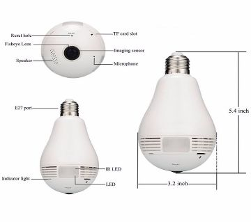 IPC360 Wireless Lamp Home Security Camera