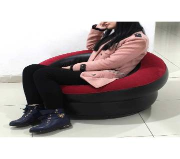 Inflatable Air Round sofa with Pumper