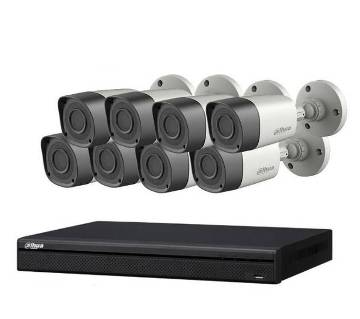 8pcs Dahua CC Camera