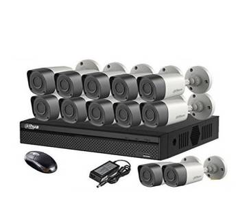 12 Pcs Dahua CC Camera