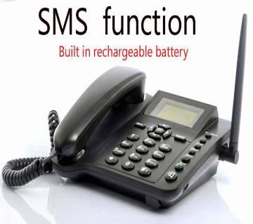 GSM সিম সাপোর্টেড ওয়্যারলেস ডেস্ক ফোন