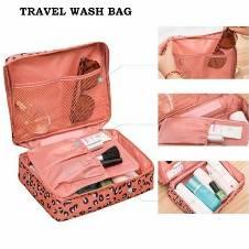 Mini Travel Accessories Bag Multi Color