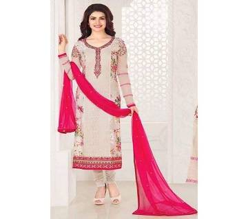 Indian Unstitched Georgette Three Piece Dress