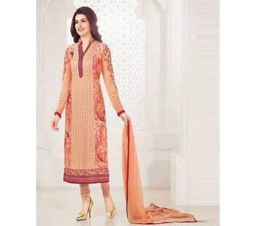 Indian Unstitched Georgette Three Piece Dress