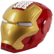The Avenger Iron Man Piggy Bank Helmet Model Coin Saving Money Box for Kids