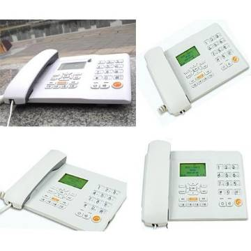 SIM card supportable Desk Phone