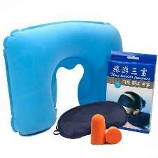 3 in 1 Travel Pillow Eye Cover Ear Plug