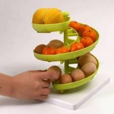 Spiral Egg Fruit Storage Holder