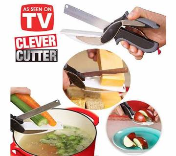 Clever cutter for fruit and vegetable