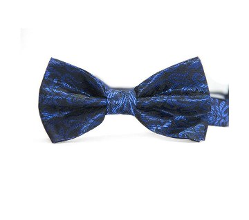 Blue Floral Bow Tie For Men