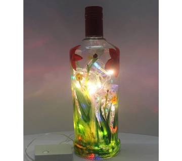 Hand paint Table Lampshade LED