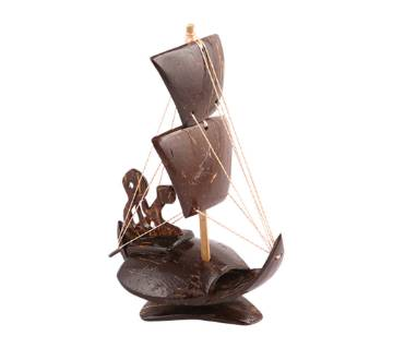 Two sail boat show-piece