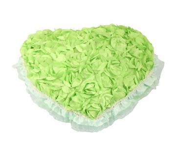 Love Shaped Pillow - Green