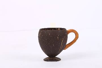 Handmade Coconut Shell Tea, Coffee Cup